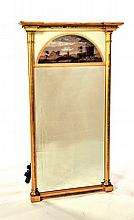 FEDERAL GOLD-LEAF MIRROR.