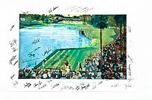 LIMITED EDITION SIGNED GOLF SERIES PRINT.