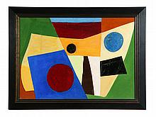 ****ABSTRACT BY WILLIAM LOUIS SORENSEN (AMERICA, MID 20TH CENTURY).