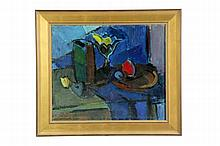 ABSTRACT STILL LIFE ATTRIBUTED TO LARS SVAHN (CONTINENTAL SCHOOL, 20TH CENTURY).