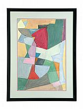 ABSTRACT BY WILLIAM LOUIS SORENSEN (AMERICA, MID 20TH CENTURY).