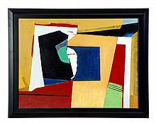 ABSTRACT BY WILLIAM LOUIS STEVENSON (AMERICA, MID 20TH CENTURY).