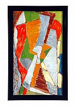 ABSTRACT BY WILLIAM LOUIS SORENSEN (SCANDINAVIA, MID 20TH CENTURY).
