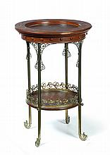 ART NOUVEAU OCCASIONAL TABLE.