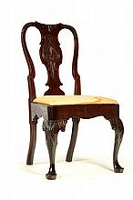 GEORGE II SIDE CHAIR.