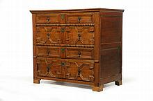 JACOBEAN CHEST OF DRAWERS.