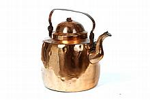 LARGE COPPER KETTLE.
