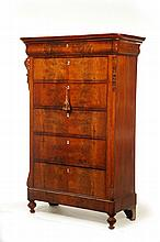 TALL CHEST OF DRAWERS.