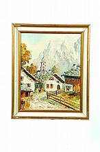 MITTENWALD BAYERN BY ERNST KRUPP (GERMANY, 20TH CENTURY).