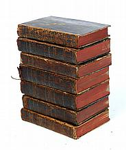 SEVEN VOLUMES OF ARISTOTLE'S WORKS.