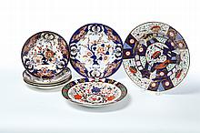 SEVEN ROYAL WORCESTER DISHES.