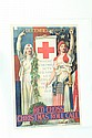 RED CROSS WORLD WAR I POSTER.
