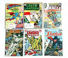 LARGE GROUP OF GOLDEN, SILVER AND BRONZE AGE COMIC BOOKS.