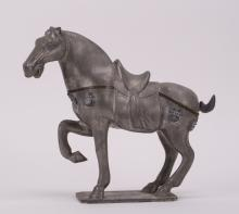 CHINESE PEWTER HORSE