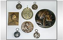 A French Silver and Bronze Collection of Medals,