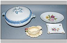 Small Box of Miscellaneous Ceramics.