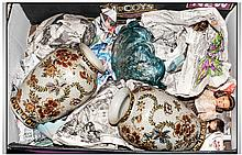 Box of Assorted Ceramics.