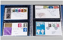 One Album of first day stamp covers from 1970 to