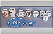 Assorted Commemorative Pottery Items Including
