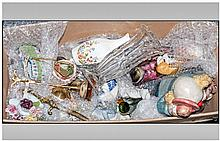 Box of Assorted Ceramics and Glass including