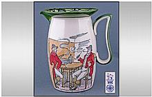 Royal Doulton Series Ware Jug 'Huntsmen at the