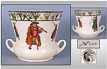 Royal Doulton Rare Izaak Walton Ware Two Handled