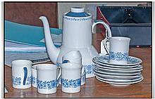 Royal Doulton Cranbourne 1960's Coffee Set,