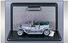 Cased Model Of 1907 Rolls Royce. 'The Silver