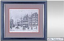 Arthur Delaney 1927-1987 Pencil Signed Limited And