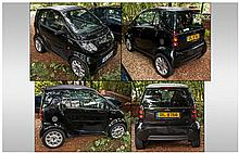 Mercedes Black Smart Car, City Coupe. Private