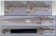 Gladiator Replica Sword & Sheaf with stainless