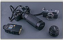 Centon DF-300 Camera together with a Tamron SP