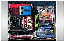 An Interesting Lot Of Mainly Boxed Star Wars And