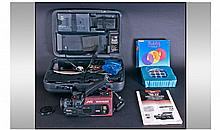 JVC Video And Movie Camera In Hard Case. With