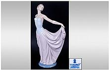 Lladro Figure 'Dancer' model number 5050. mint condition and original box. 12'' in height.