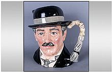 Royal Doulton Character Jug ' City Gent ' D.6815. Issued 1988-1991. Height 7 Inches, Excellent Condition.