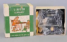 Singer Sewhandy Small Sewing Machine, original box