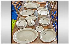 Clarice Cliff Part Dinner Service with an