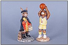 Royal Doulton Bunnykins, 2 In Total. 1, Town