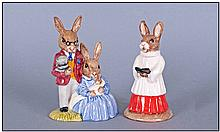 Royal Doulton Bunnykins, 2 In Total. 1, Choir