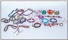 Collection Of Various Costume Jewellery Including