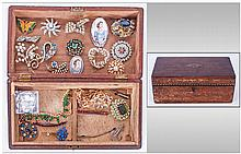 Box Of Various Costume Jewellery Including