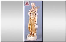 Royal Dux Classical Figure 'Woman Watercarrier' in