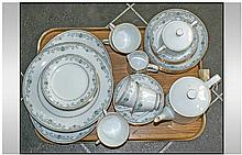 Noritake ''Chatswood'' Dinner Set. Good condition.