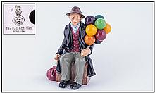 Royal Doulton Early Figure ''The Balloon Man'' HN