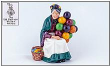 Royal Doulton Early Figure ''The Balloon Lady'' HN