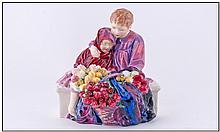 Royal Doulton Early Figure ''Flower Sellers