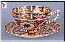 Royal Crown Derby Imari Pattern Very Fine Cup And