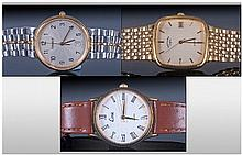 Three Modern Gents Wristwatches, Comprising A