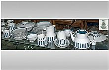 Royal Doulton Part Coffee Set 'Moonstone' TC1023